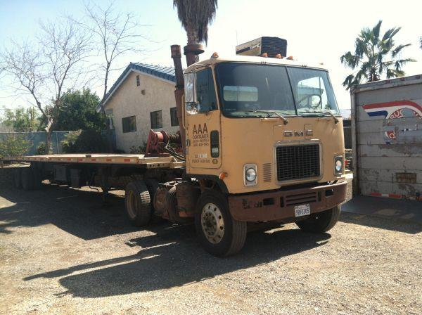1976 Gmc Cabover Truck N Container Hauling Trailers For