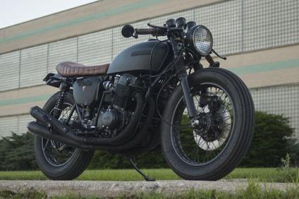 "1976 honda cb750 k ""wabi-sabi"" custom cafe racer motorcycle"