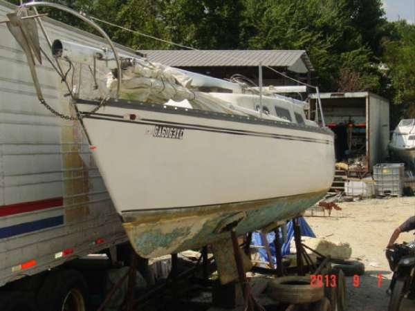 1976 Hunter Marine 25 Hunter shoal keel for Sale in ...