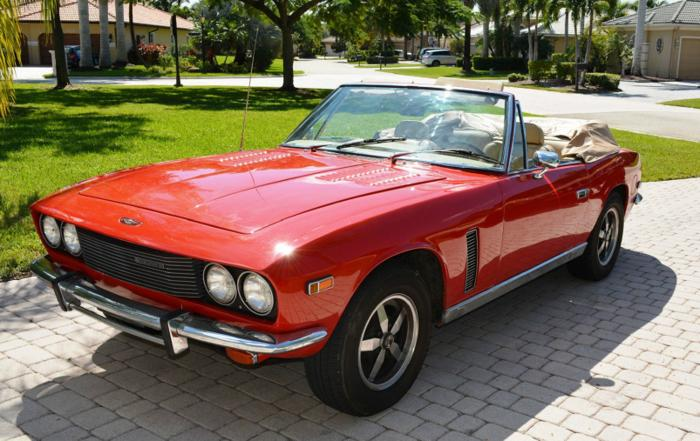 1976 JENSEN INTERCEPTOR CONVERTIBLE RWD