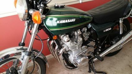 1976 Kawasaki KZ900 A4 - Free Shipping Worldwide -
