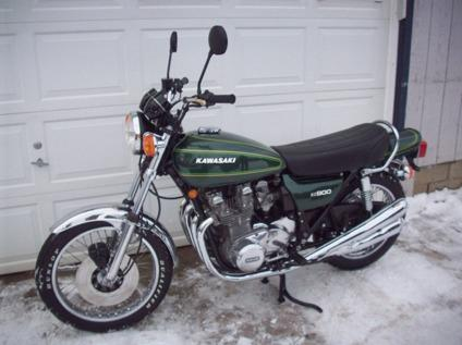 1976 Kawasaki KZ900 -Worldwide Free Delivery- for Sale in