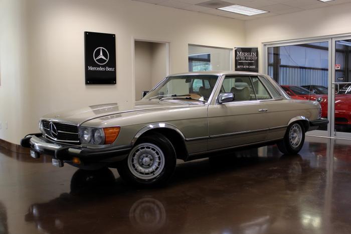 1976 mercedes benz 450 slc for sale in atlanta georgia for Mercedes benz plant atlanta ga