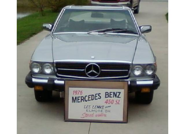 1976 mercedes benz 450sl convertible for sale in lindsey for 1976 mercedes benz 450sl for sale
