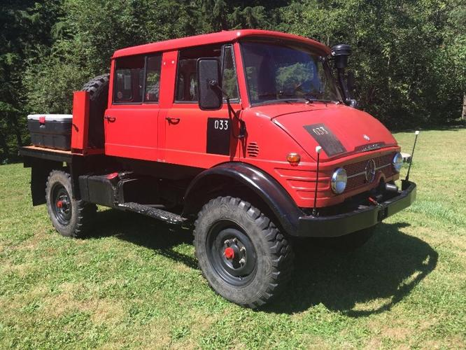 1976 Mercedes-Benz Unimog Double Cab (Doka) for Sale in ...