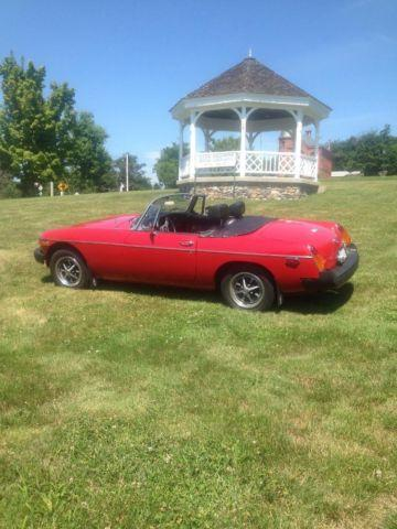 ➡️1976 MG MGB roadster⬅️