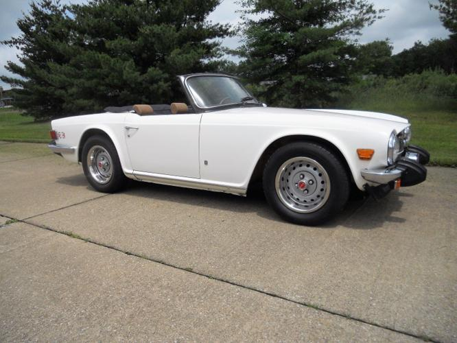 1976 Triumph Tr6 Beautiful Frame Off Restored For Sale In Anderson