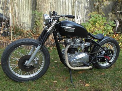 1977 BRITISH TRIUMPH TIGER BONNEVILLE 650cc