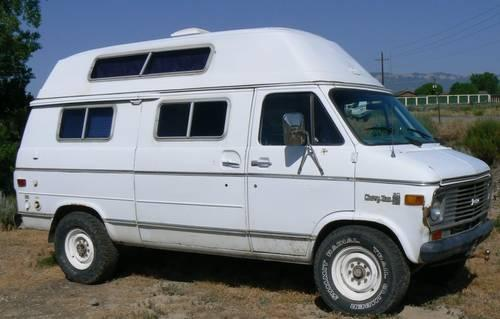 1977 Chevy 3 4 Ton Van With Camper Conversion For Sale In