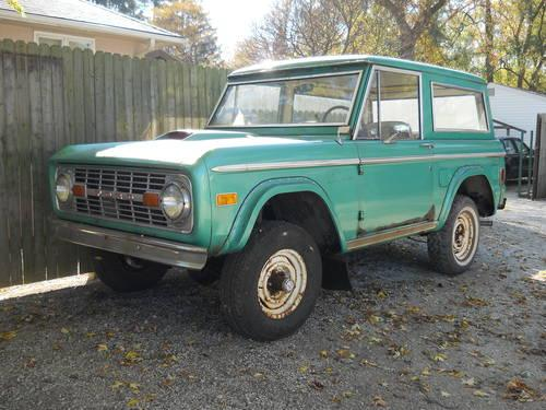 1977 ford bronco sport 4wd w title for sale in kenosha wisconsin. Cars Review. Best American Auto & Cars Review