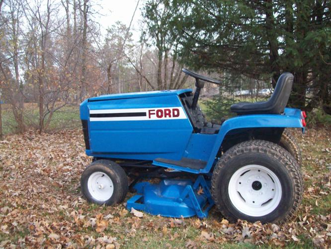 Ford Garden Tractors With Pto : Ford lgt wiring diagram parts list