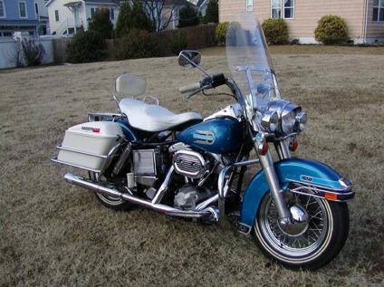 1977 Harley-Davidson FLH Shovelhead- Unrestored Delivery Worldwide