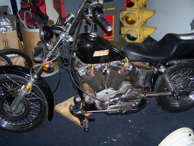 1977 Harley Davidson Sportster with 1200 kit for Sale in Bryan, Ohio