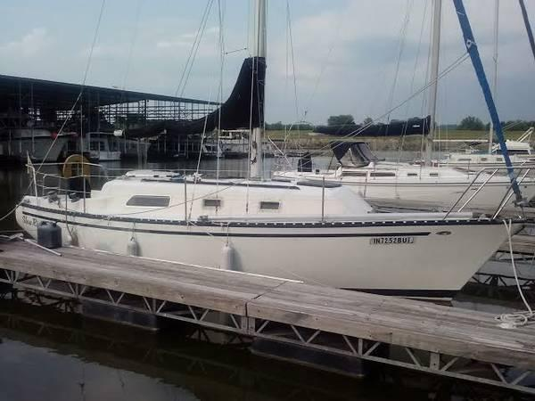 1977 Hunter 30 Sailboat For Sale In Greendale Indiana