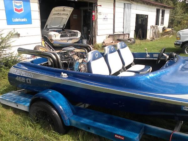1977 jet boat big block 454 for sale in jackson for Moss motors buy here pay here