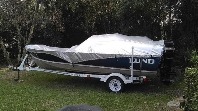 1977 Lund Aluminum Boat For Sale Or Trade 16 Foot Boat