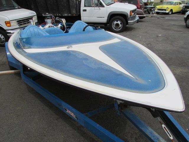 1977 Marlin Drag Jet Boat 455 Olds