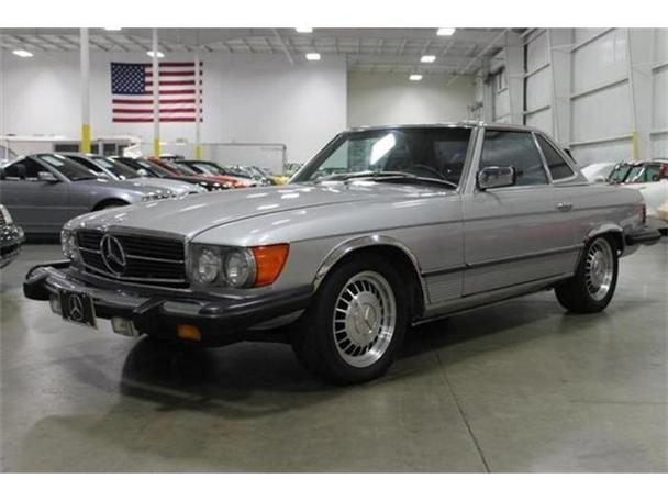 1977 mercedes benz 450sl for sale in kentwood michigan for Mercedes benz bloomfield mi