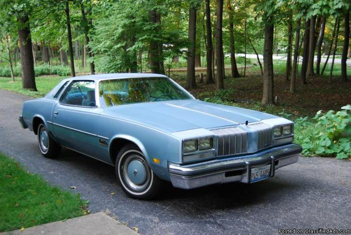 1977 oldsmobile cutlass salon coupe for sale in homer glen