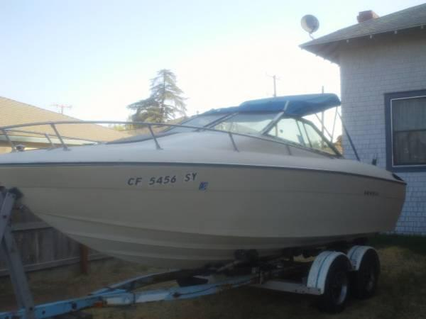 1977 reinell 20 39 boat new rebuilt motor for sale in for Remanufactured outboard motors for sale