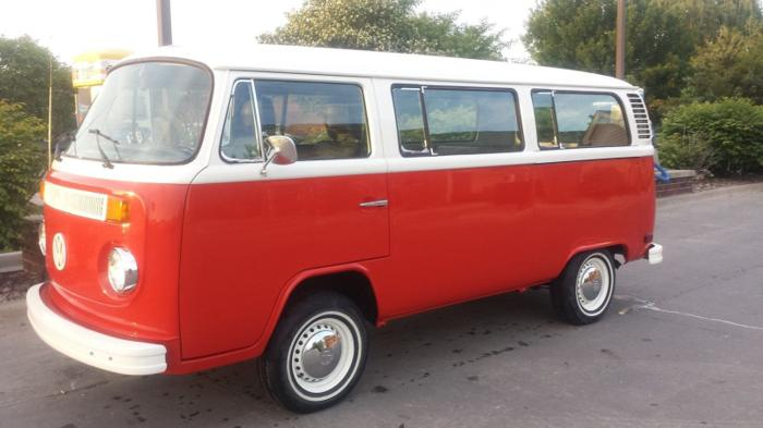 1977 Volkswagen Bus Vanagon Kombi Red For Sale In Orange