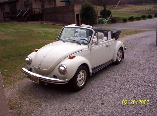 1977 vw super beetle convertible champayne edition for sale in danville virginia classified. Black Bedroom Furniture Sets. Home Design Ideas