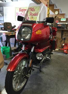 1978 bmw r100rs exterior color red for sale in clayton missouri classified. Black Bedroom Furniture Sets. Home Design Ideas