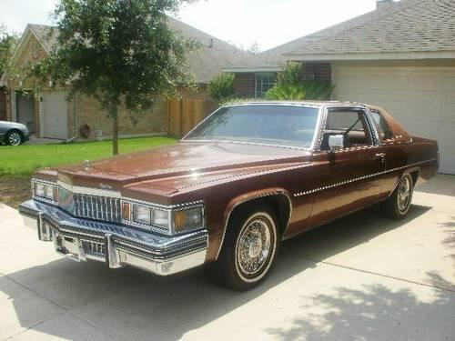 1978 cadillac coupe deville 5 speed auto bronze for sale for H r motors san antonio