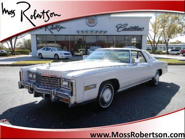 1978 cadillac eldorado for sale in gainesville georgia for Moss motors buy here pay here
