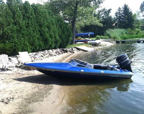 1978 Checkmate Predictor 16' Speed Boat FS or Trade
