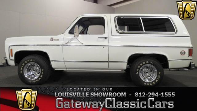 1978 Chevrolet Blazer K5 #1046LOU