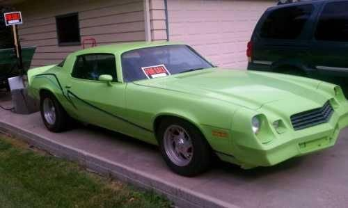 1978 Chevrolet Camaro Pro Street High Performance In