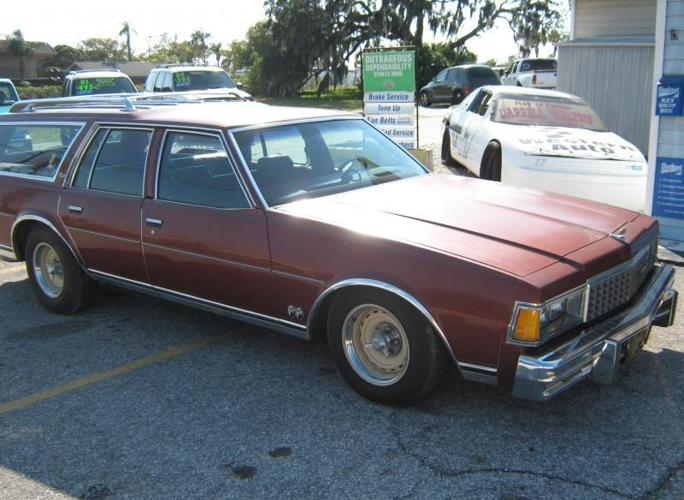 Buy Here Pay Here Miami >> 1978 Chevrolet Caprice Classic Station Wagon for Sale in Tarpon Springs, Florida Classified ...