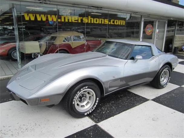 1978 chevrolet corvette for sale in springfield ohio classified. Black Bedroom Furniture Sets. Home Design Ideas