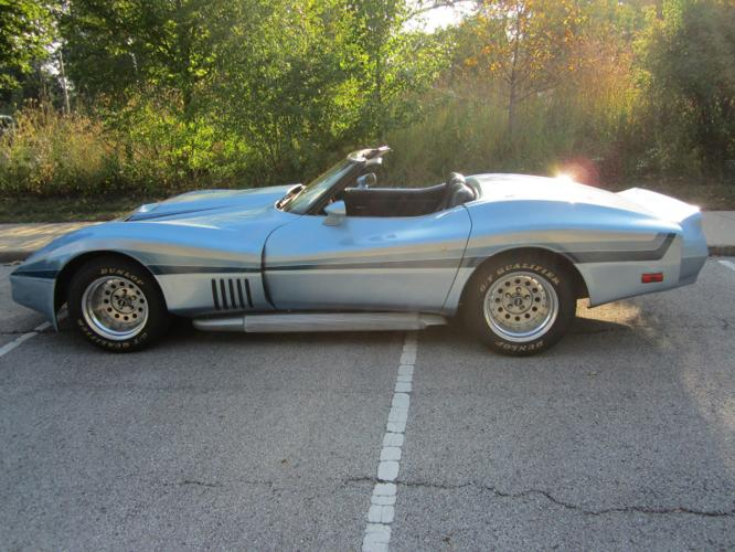 1978 Chevrolet Corvette Blue