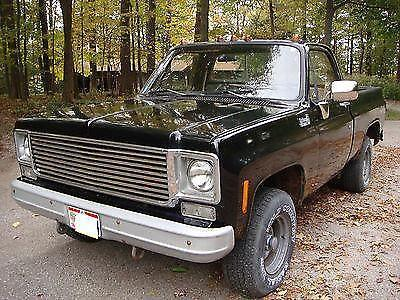 1978 chevrolet k10 1500 truck 4x4 short bed for sale in marne ohio classified. Black Bedroom Furniture Sets. Home Design Ideas