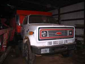 1978 chevy c70 grain truck