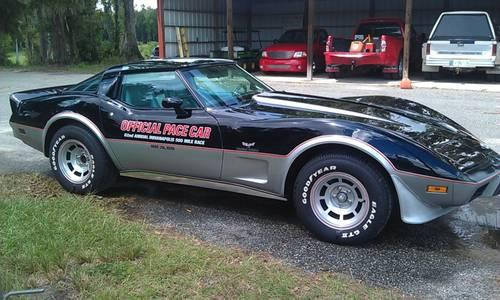 1978 chevy corvette pace car for sale reduced price for sale in brooksville florida. Black Bedroom Furniture Sets. Home Design Ideas