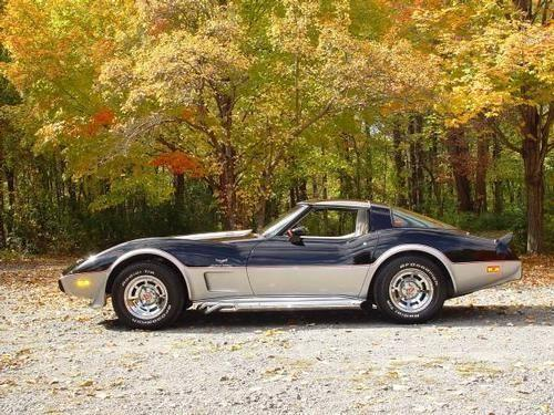 1978 Corvette 25 th Anniversary Indy Pace Car