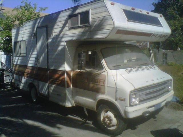 1978 Dodge Motorhome for Sale in Los Angeles, California Classified
