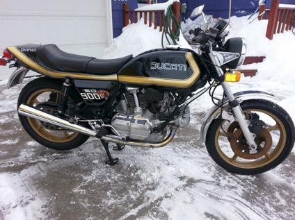 1978 DUCATI BEVEL 900cc SD DARMAH DESMO -Free Delivery Worldwide-