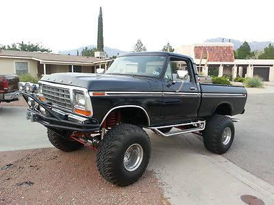 1978 ford 4x4 truck for sale in el paso texas classified. Black Bedroom Furniture Sets. Home Design Ideas