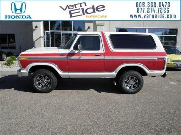 1978 ford bronco for sale in sioux falls south dakota classified. Black Bedroom Furniture Sets. Home Design Ideas