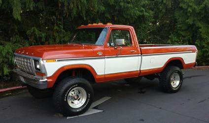 1978 ford f 250 4x4 ranger xlt 102 866 original miles for sale in wescosville pennsylvania. Black Bedroom Furniture Sets. Home Design Ideas