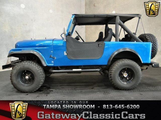 1978 jeep cj 7 convertible metallic blue 213tpa for. Black Bedroom Furniture Sets. Home Design Ideas