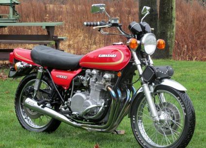 1978 Kawasaki KZ1000 A