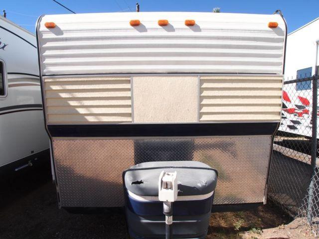 1978 Red Dale 15 Ft Light Weight Travel Trailer Many