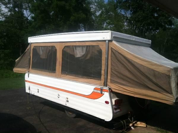 1978 Starcraft Galaxy 6 Pop Up Camper For Sale In