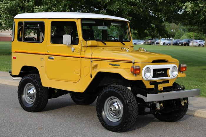 Toyota Fj40 For Sale >> 1978 Toyota Land Cruiser Fj40