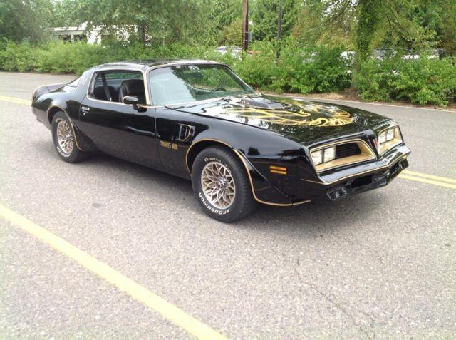 1978 Trans Am Bandit, real Y82 Smokey and the Bandit T/A